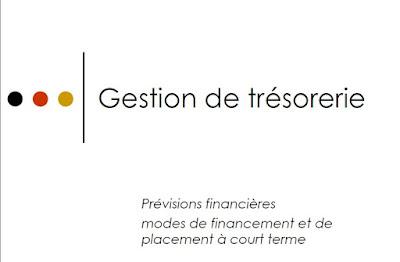 Cours Gestion de trésorerie PDF