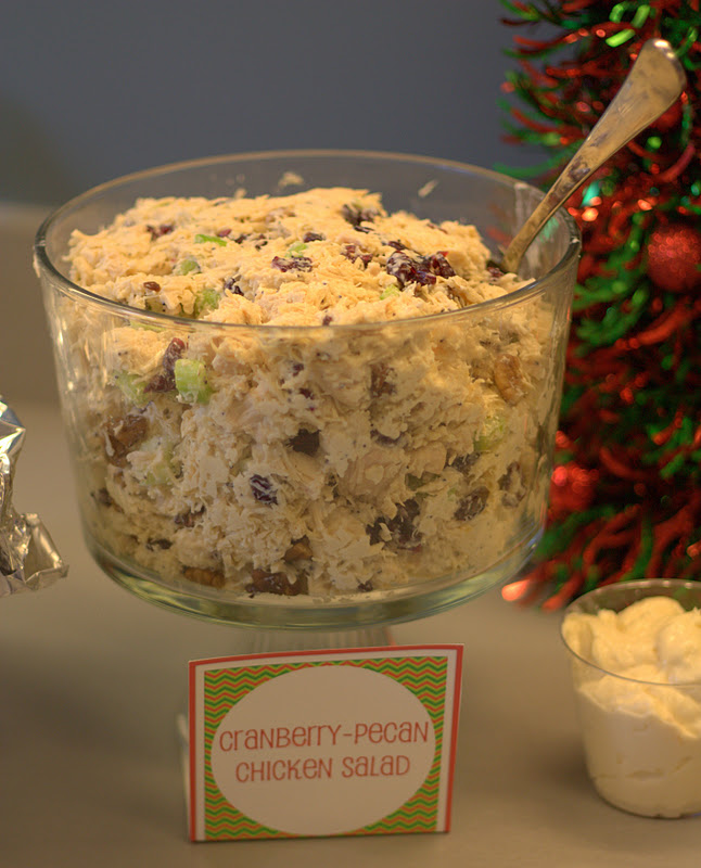 Cranberry Chicken Salad With Pecans For Sandwiches