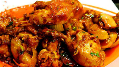 Add Colors on Independence day with Chicken Dopiaza