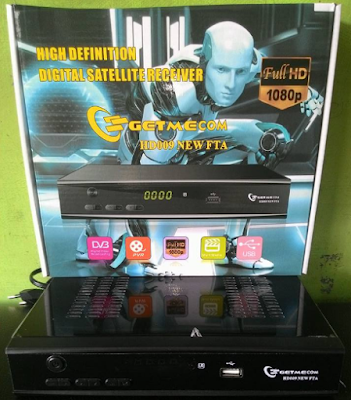 Digital Receiver Getmecom HD 009 New FTA