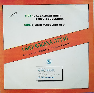 Charles Iwegbue & His Archibogs - Lagos Highlife