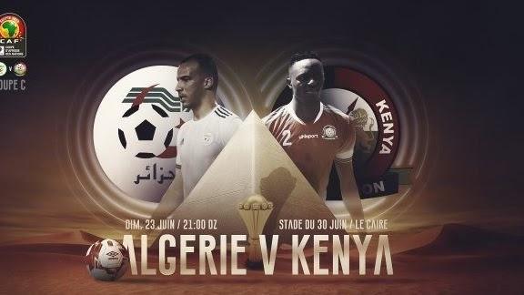 مشاهدة مباراة الجزائر و كينيا 23-06-2019 كأس أمم إفريقيا