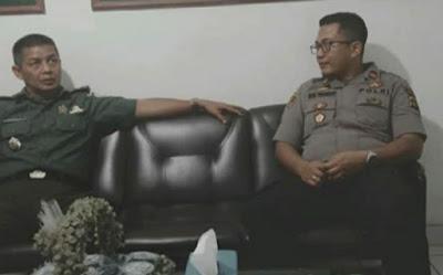Kapolsek Jelutung Jalin Silaturahmi Sinergitas Ke Kantor Kecamatan Jelutung Dan Ke Mako Danramil 415-10/Jamse