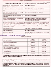 CTET 2019 December Exam Apply Online Applications Forms at ctet.nic.in
