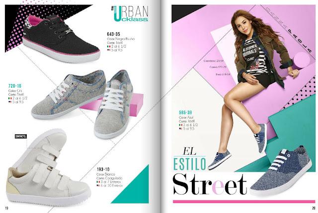 Cklass urban zapatos damas 2018| Danna Paola