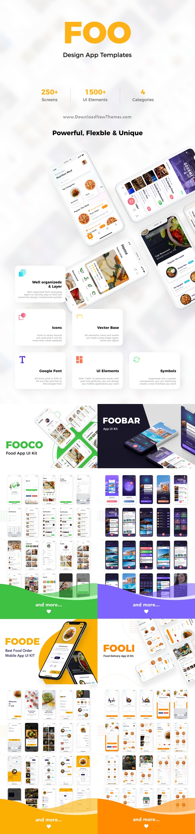 Food and Beverage Mobile App UI Kit