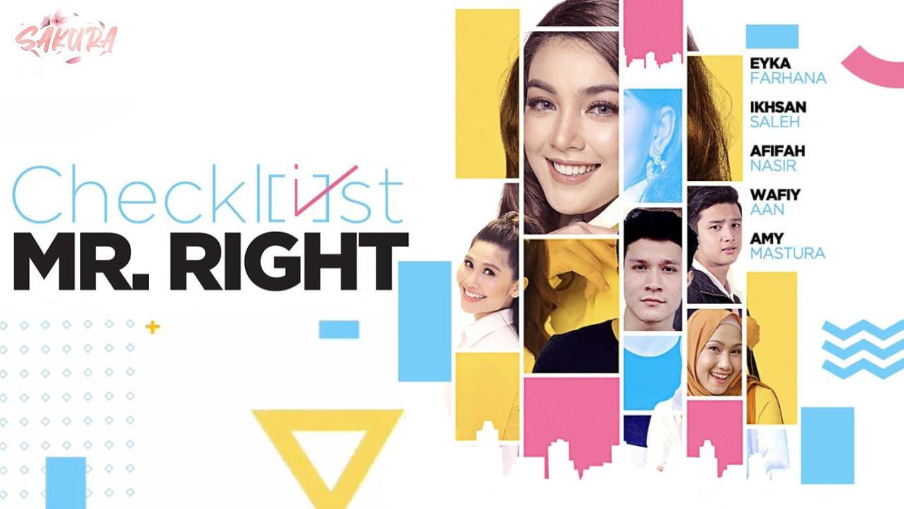Saksikan Drama Checklist Mr Right Di TV3