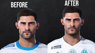 PES 2021 Faces Alvaro Gonzalez by Eyzord