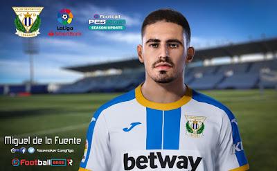 PES 2021 Faces Miguel de la Fuente by CongNgo