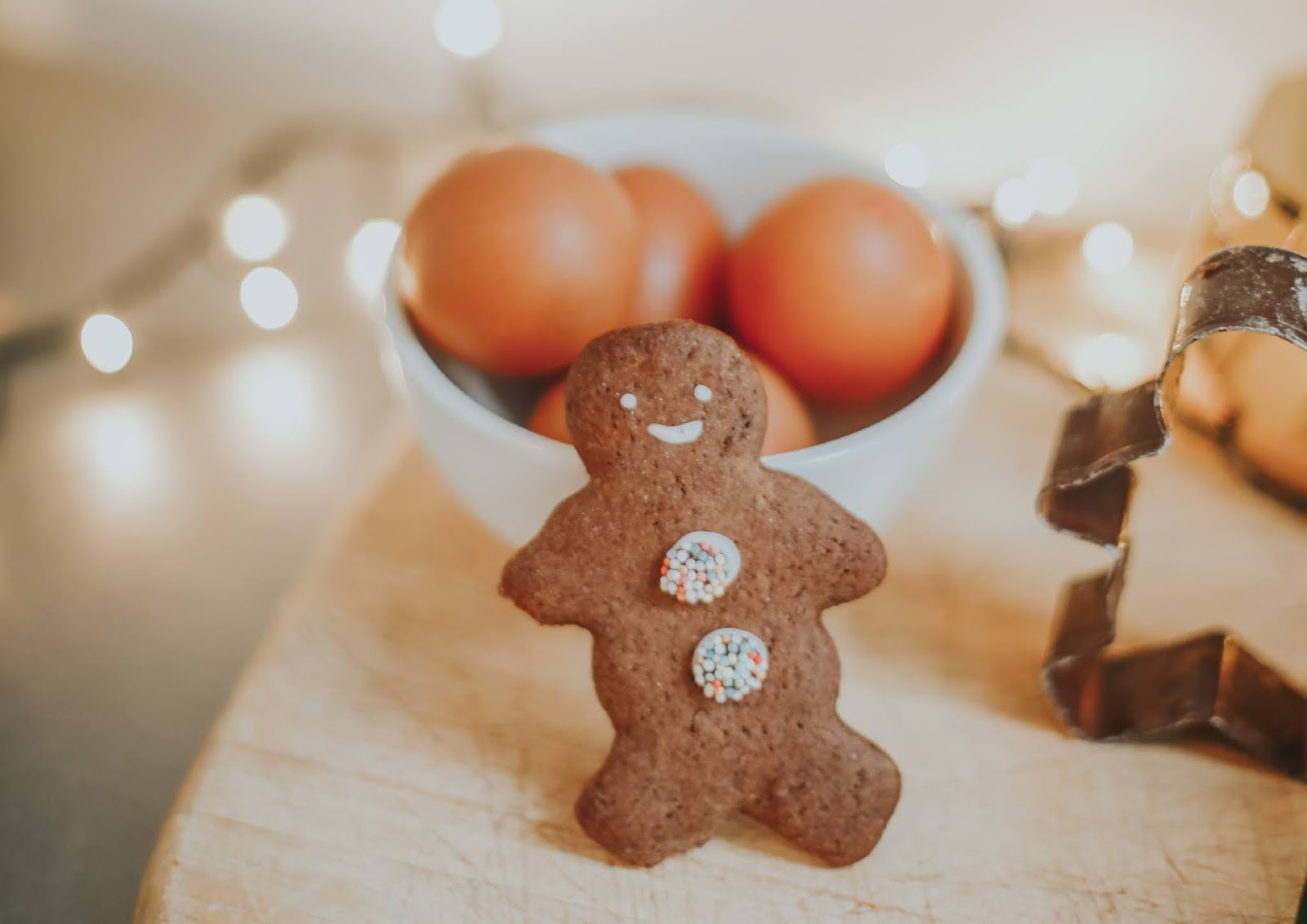 Rêveuse Recipe: Christmassy Chocolate Gingerbread Men