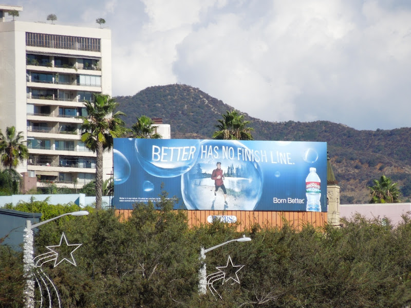 Arrowhead water billboard