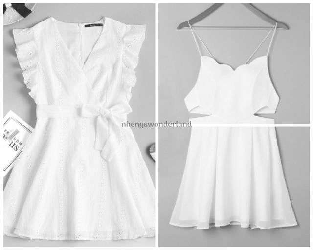 Wear White - Zaful