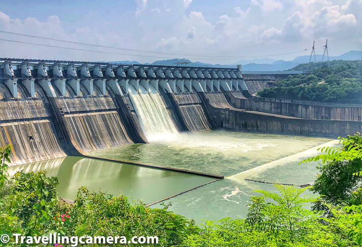 Sardar Sarovar Dam is very close to the famous Statue of Unity in Gujrat state of India. This whole area developed so well and now dam like Sardar Sarovar can also be seen from close-by building. This blogpost shares more about Sardar Sarovar Dam, it's scale and how Gujrat Tourism has transformed this place to make it accessible to tourists.