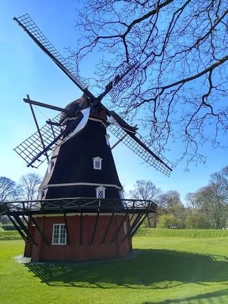 Beautiful sight seeing of Windmill in Europe village