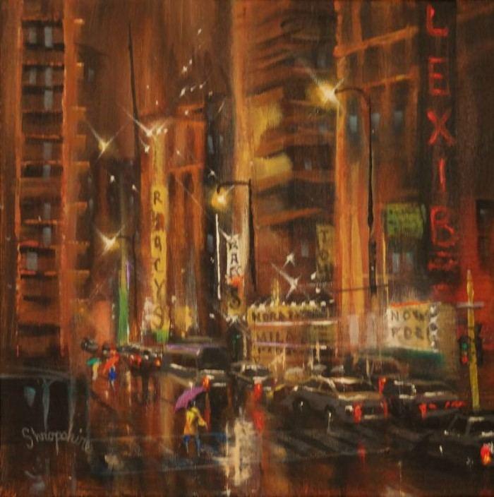 Романтика ночного города. Tom Shropshire