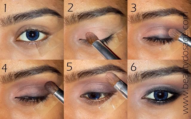 Get the look Kim kardashians smokey eye Beauty Dosage