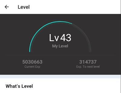 Jual Akun Bigo Live Level 43