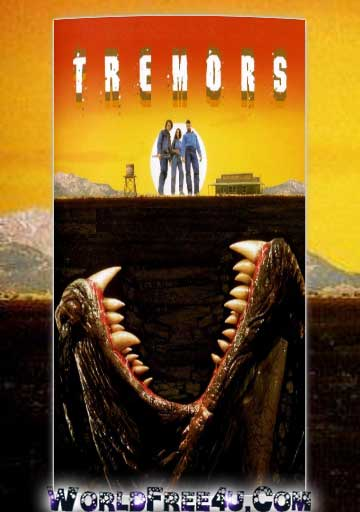 Poster Of Tremors (1990) In Hindi English Dual Audio 300MB Compressed Small Size Pc Movie Free Download Only At worldfree4u.com