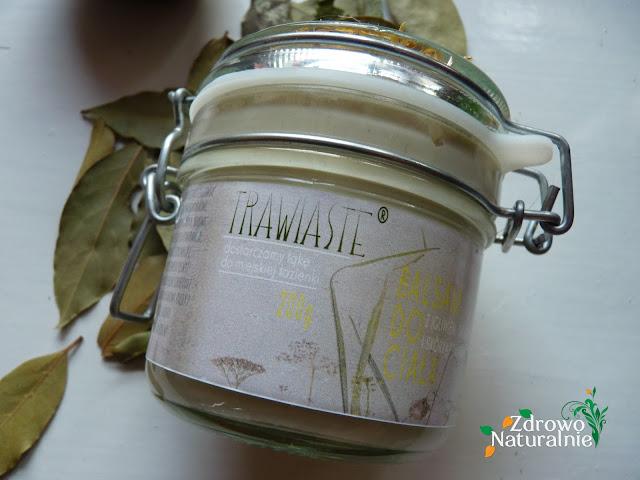 Trawiaste - Balsam do ciała z igliwiem i skórką pomarańczy