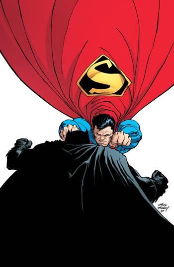 Batman y Superman en DKIII (Dark Knight Master Race)