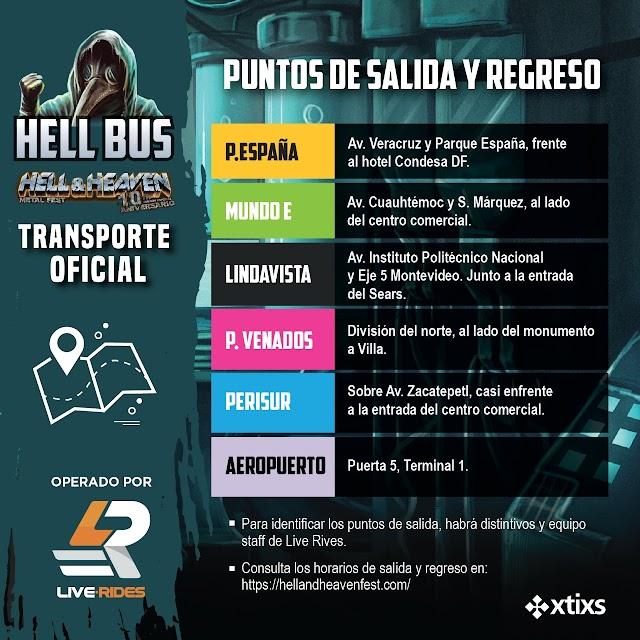 HELLBUS AL FORO PEGASO