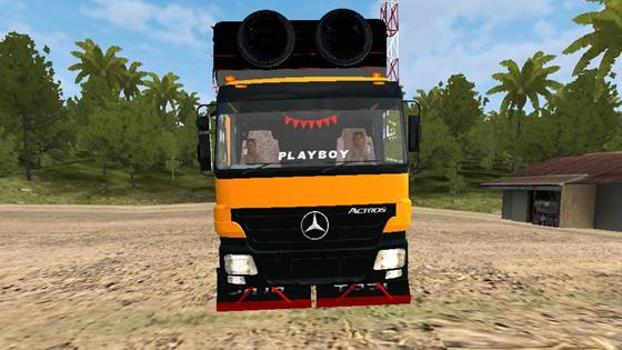 mod bussid mercy actros sumatera style