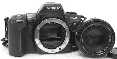 Minolta Alpha Sweet (Black) Body #449, Minolta Maxxum AF 50mm 1:1.7 #392