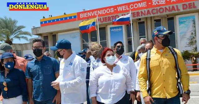 437 turistas rusos llegan a Margarita para disfrutar lo que los venezolanos no tenemos derecho