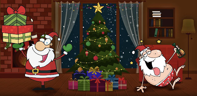stilton's place, stilton, political, humor, conservative, cartoons, jokes, hope n' change, christmas, truth about santa, sinister tales, donnell, johnny optimism, charity
