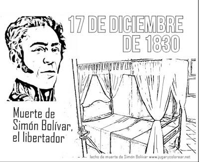 17 de diciembre de 1830: muere Simón Bolívar, el libertador