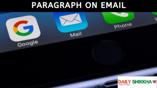 paragraph on Email