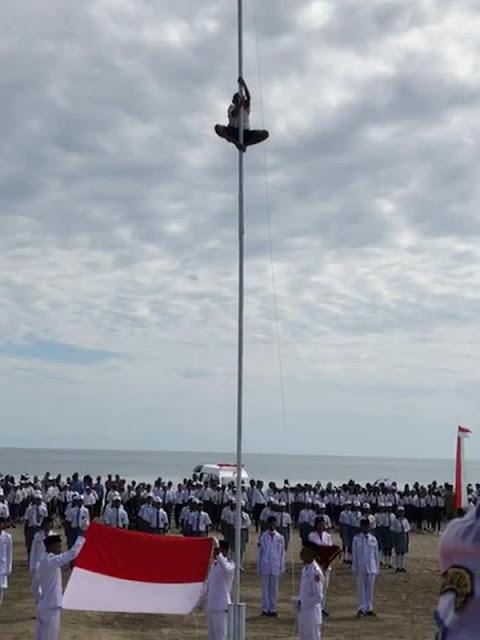 Ingat Joni Pemanjat Tiang Bendera 17 Agustus? Begini Sosoknya Sekarang