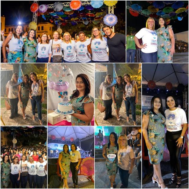 No Dia Estadual de Combate ao Feminicído, vereadora Nildinha Teles participa de evento em São Luis