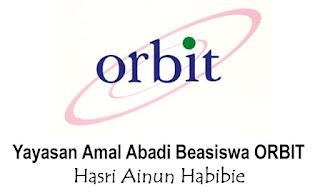 Pendaftaran Beasiswa Orbit Ainun Habibie 2016