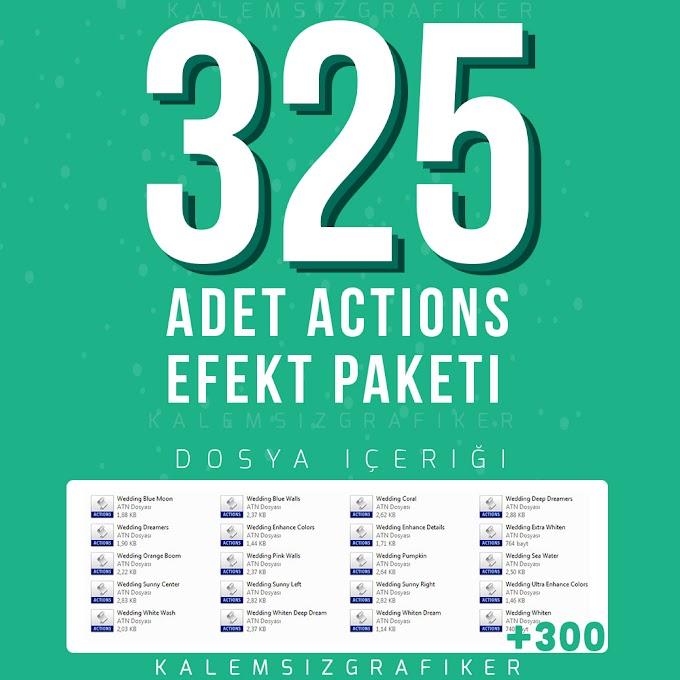 325 Adet Actions Efekt Paketi