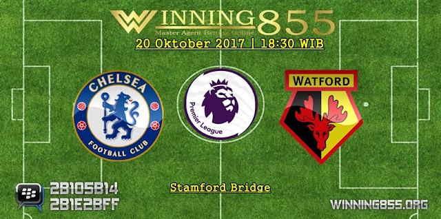 Prediksi Skor Chelsea vs Watford 20 Oktober 2017