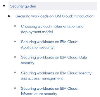 Security Guides for IBM Cloud