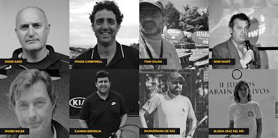 Ponentes Programa I Simposium Internacional Tenis Madrid Noviembre 2019