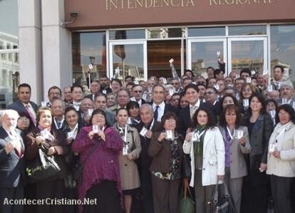 Pastores con credenciales para asistir espiritualmente a enfermos de hospitales