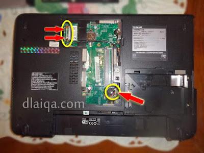 lepas konektor wifi card
