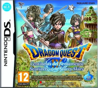 Dragon Quest IX: Sentinels of the Starry Skies, NDS, Español, Mega, Mediafire