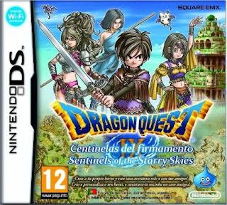Dragon Quest IX: Sentinels of the Starry Skies, NDS, Español, Mega, Mediafire