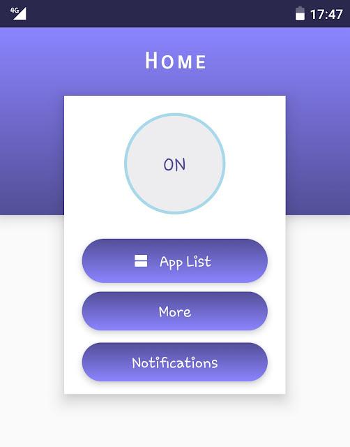 Material Status Bar app