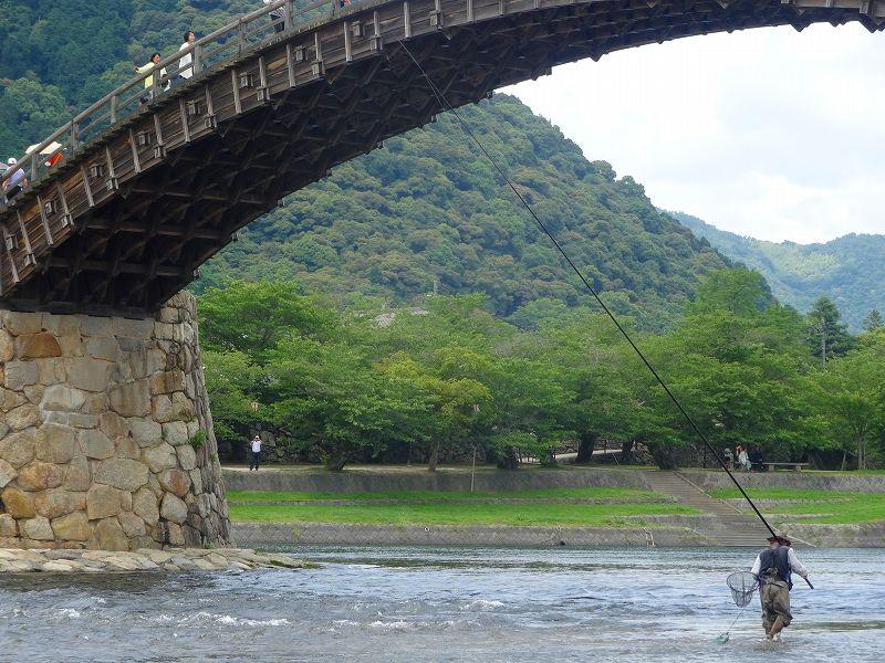 山口県岩国市の錦帯橋です。