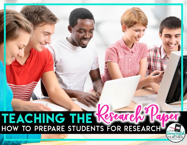 Teaching the Research Paper Part 1: Introducing the Research Paper and Preparing Students for the Assignment