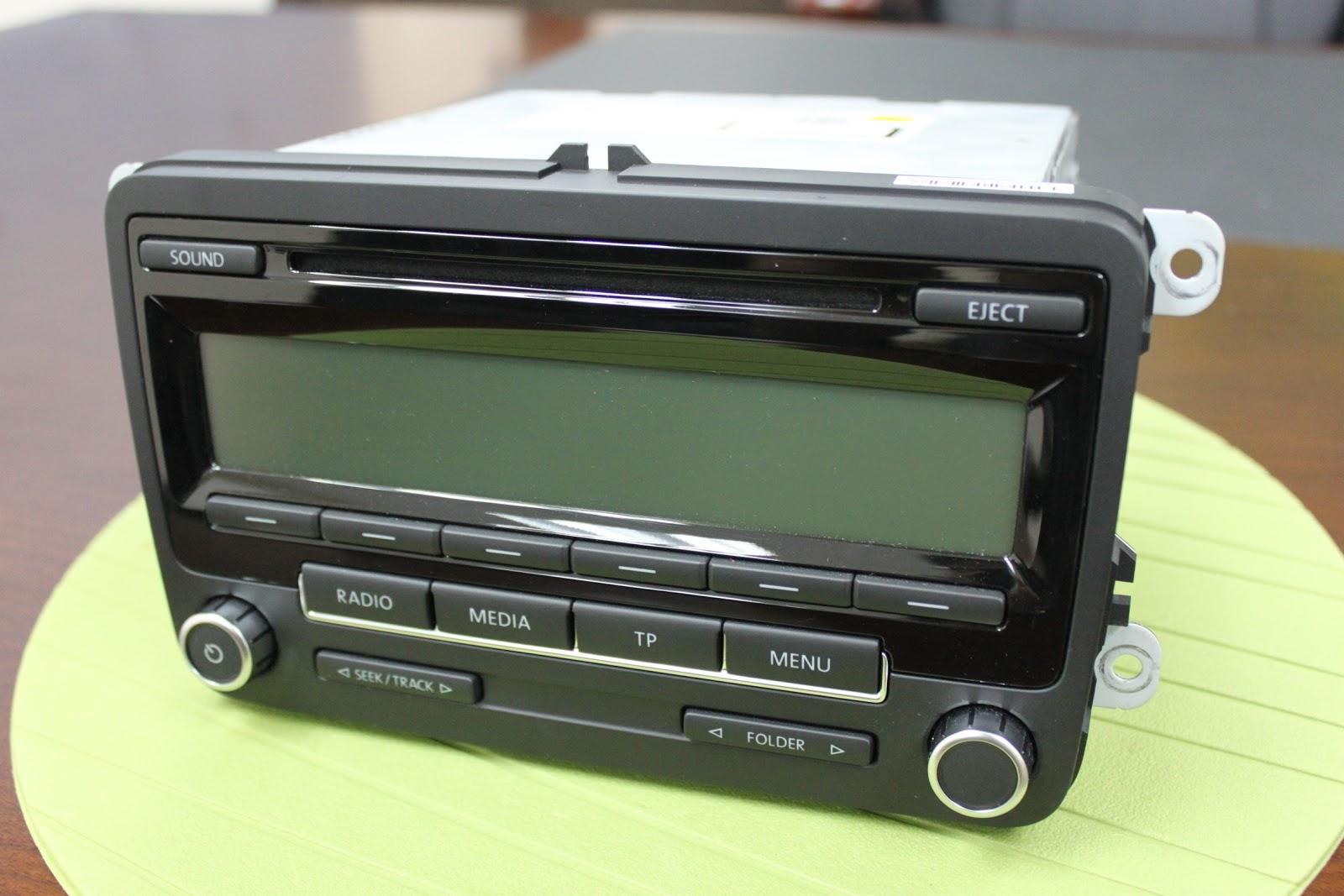 genuine volkswagen mp3 cd radio rcd310 radio vw merchandise. Black Bedroom Furniture Sets. Home Design Ideas