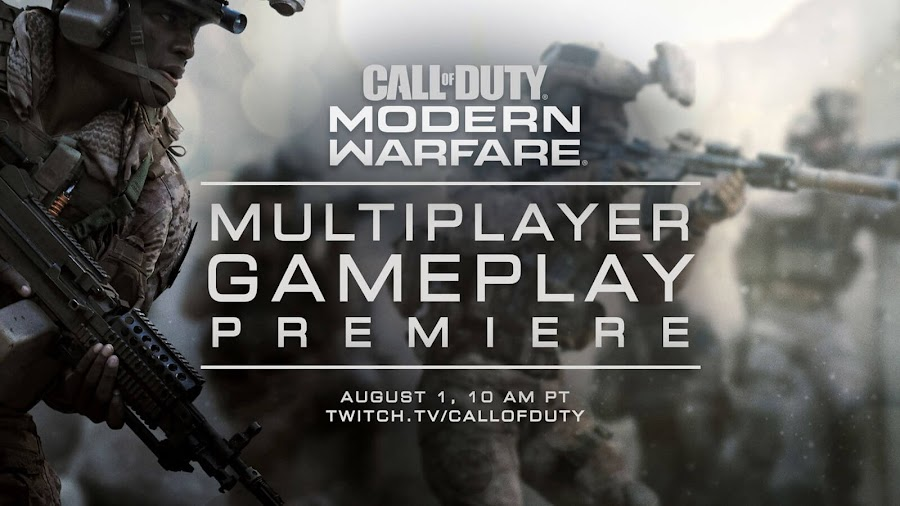 call of duty modern warfare 2019 multiplayer reveal activision infinity ward