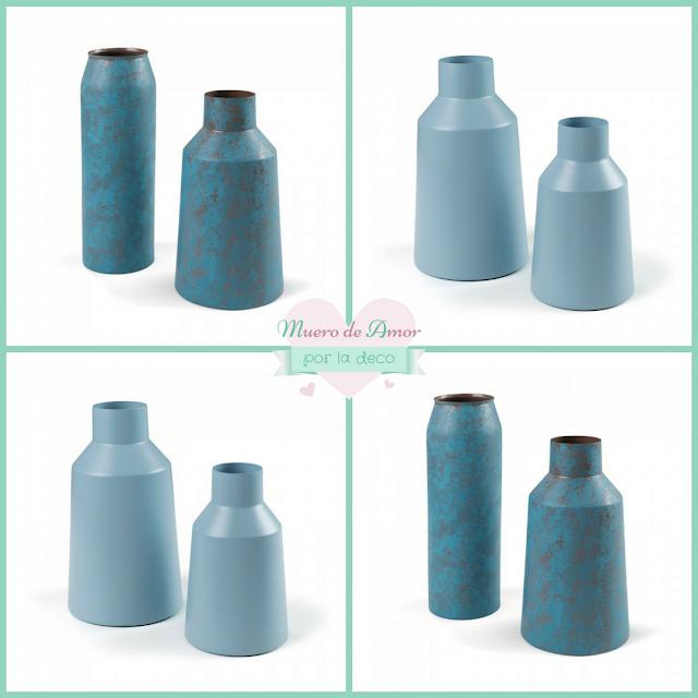 Jarrones Azules para Decorar tu Casa-Kavehome-By Ana Oval