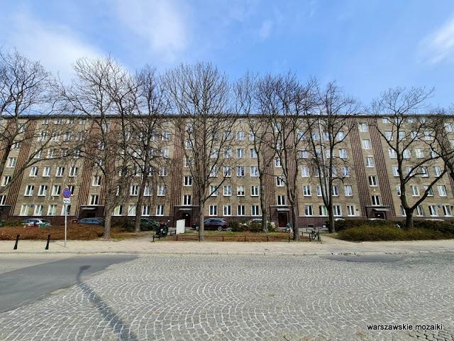 Warszawa Warsaw architektura architecture Fundusz Kwaterunku Wojskowego Żoliborz