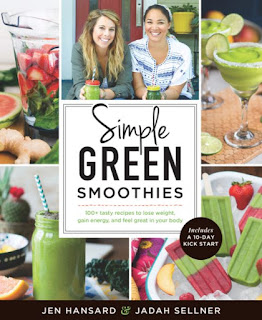 Book cover: Simple Green Smoothies by Jen Hansard and Jadah Sellner